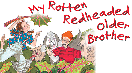 my rotten redheaded older brother pdf